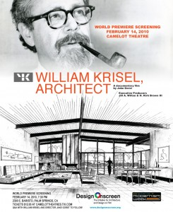 William Krisel, Architect