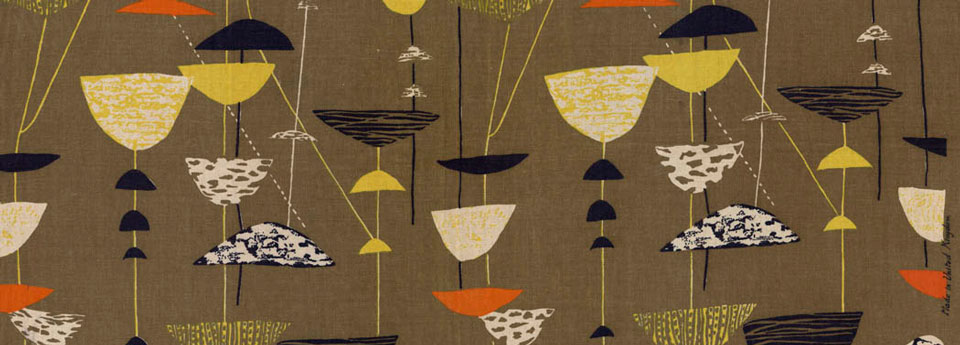 Lucienne Day - Olive Caylx pattern